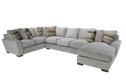 Oracle Right-Facing Chaise Sectional