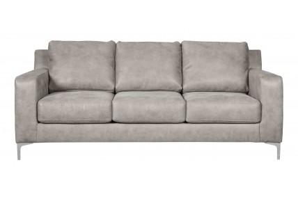 Ryler Gray Steel Sofa