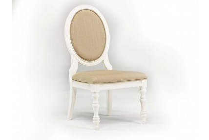 Sweetheart Vanity Chair in White