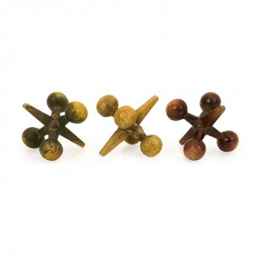 Cast Iron Jacks - Set of 3