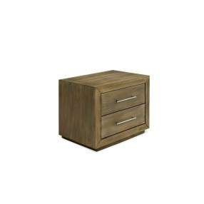 Melbourne Nightstand in Brown