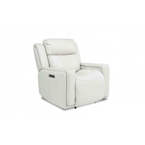 Ice 3-Power Recliner in White