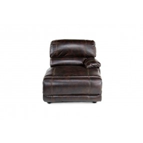 Azul Air Right-Facing Chaise in Brown