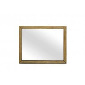 Melbourne Mirror in Brown