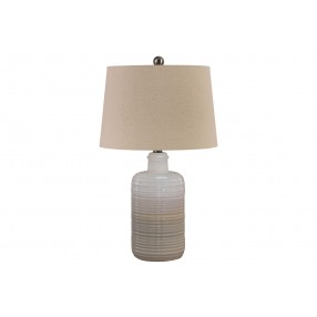 Marnina Table Lamp Set of 2 in Taupe