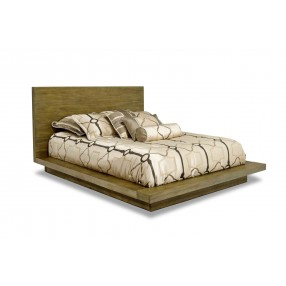 Melbourne CA King Bed in Brown