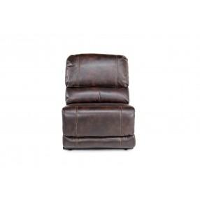 Azul Air Armless Chair in Brown