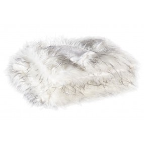Calisa Throw Blanket in White