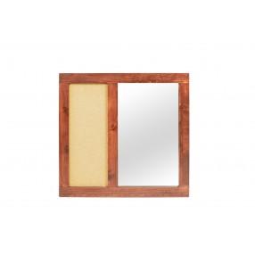 Young Pioneer Mirror in Cinnamon