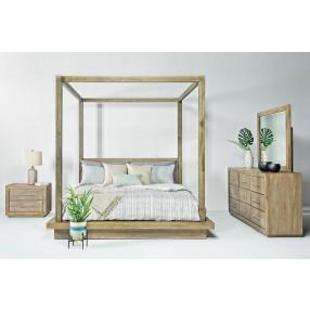 Melbourne Canopy Bedroom in Brown