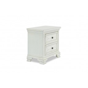 Calloway Nightstand in White