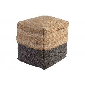 Sweed Valley Jute Pouf