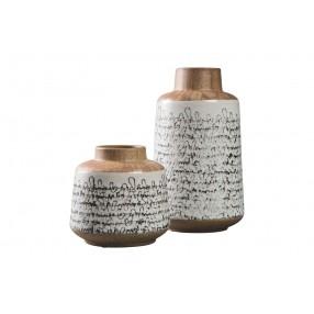Meghan Ceramic Vases, Set of 2