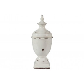 Devorit Ceramic Canister in White