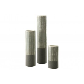 Elwood Vases in Gray