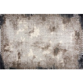 "Abington Gray and Brown Rug - 10'6"" x 7'10"""