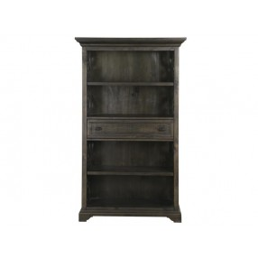 Bellamy Charcoal Bookcase