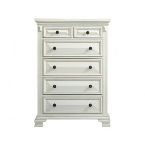 Calloway Chest in White