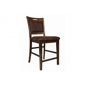 Cannon Valley Stool in Brown