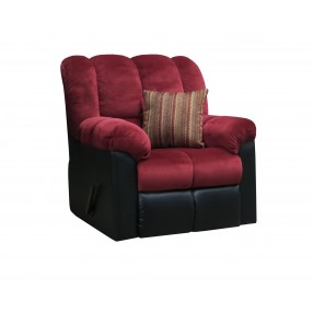 Fountain Berry Gliding Swivel Recliner