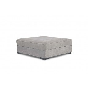 Oracle Cocktail Ottoman in Platinum