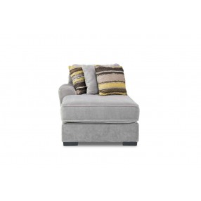 Oracle Down Left-Facing Chaise in Platinum