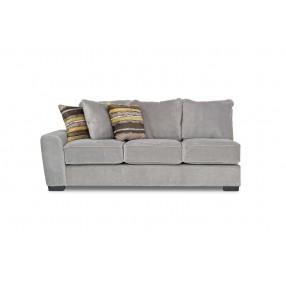 Oracle Down Left-Facing Sofa in Platinum