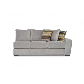 Oracle Down Right-Facing Sofa in Platinum