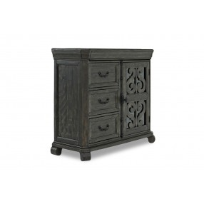 Bellamy Media Chest in Charcoal