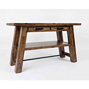 Cannon Valley Sofa Table in Brown