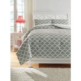 Media Lattice Full Comforter Pack in Gray