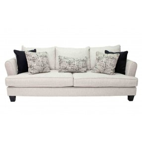 Rachel Omega Mist Queen Sleeper Sofa (with Foam Mattress)