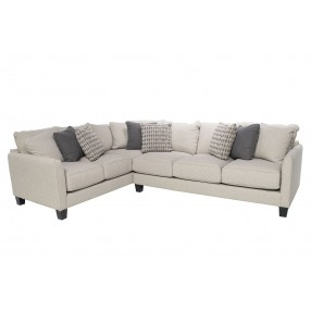 Stockholm Gel Seating Left-Facing Small Sectional