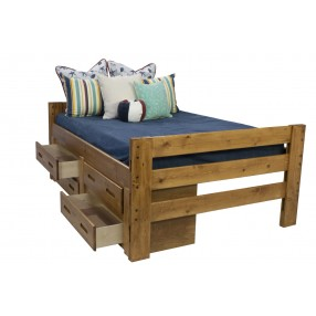 Young Pioneer Bunk Bed Ladder In Natural Mor Furniture