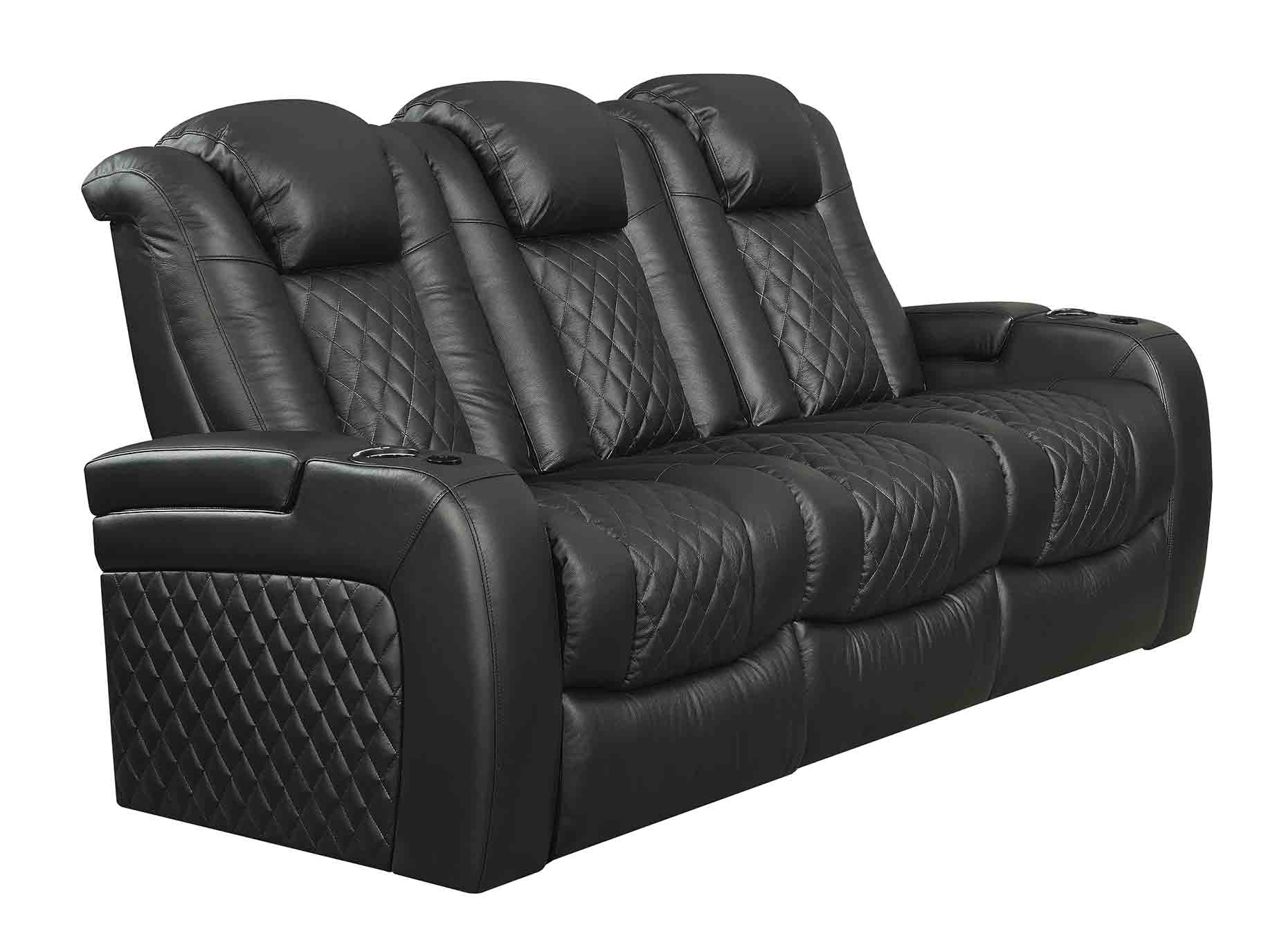 212627982 Racer 2 Sofa In Black